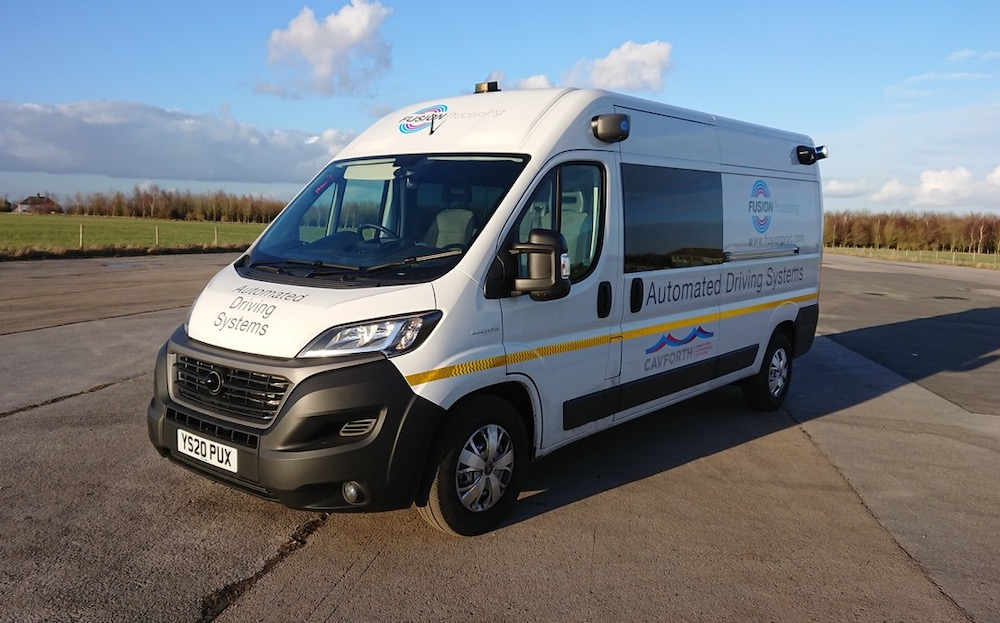 Van with Fusion Processing technology