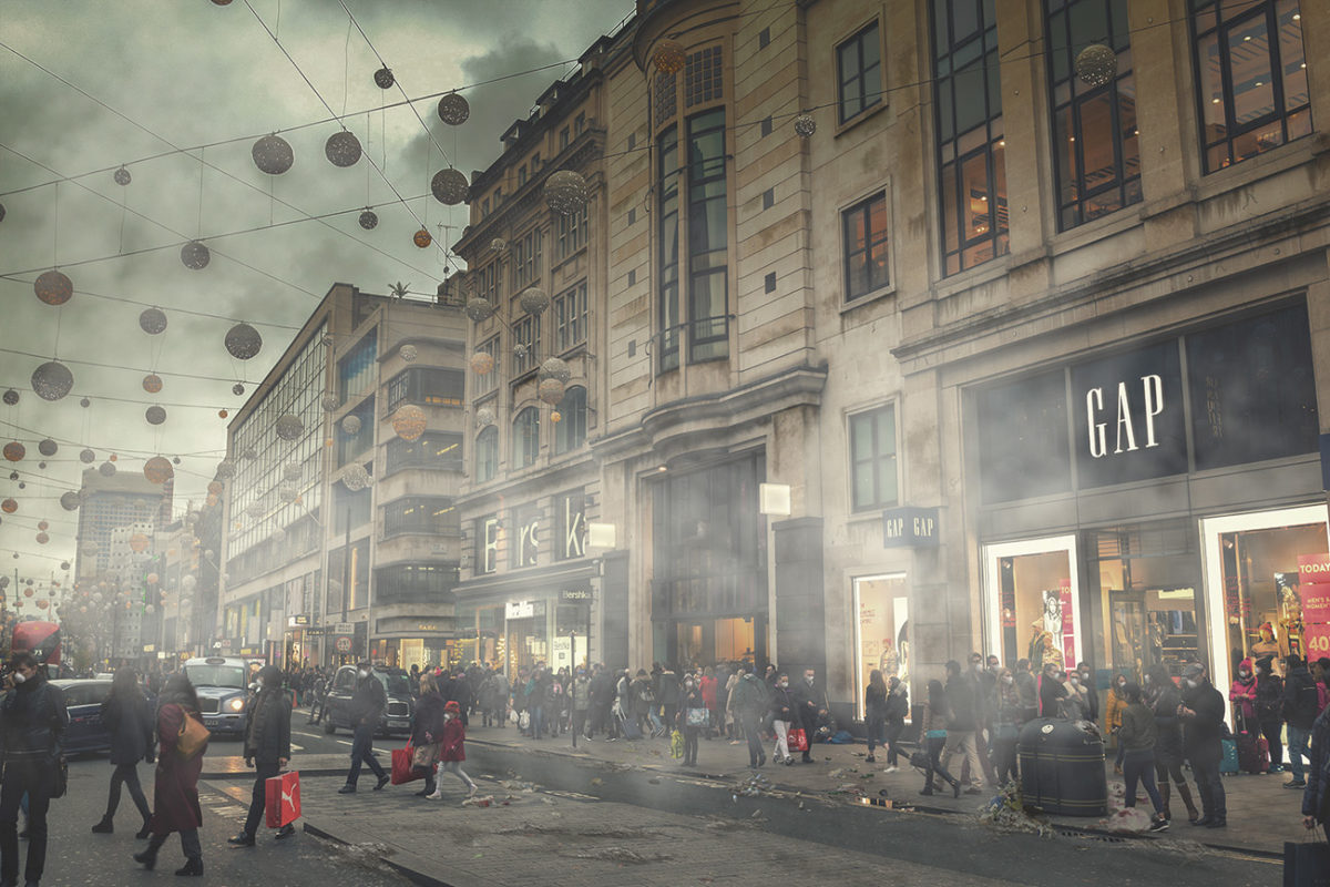 A dystopian vision of polluted London