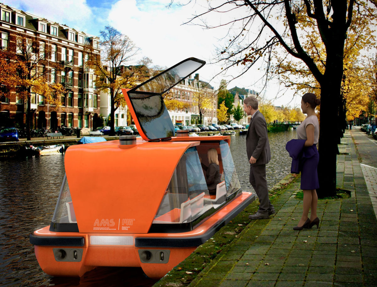 Driverless river transport: the roboat