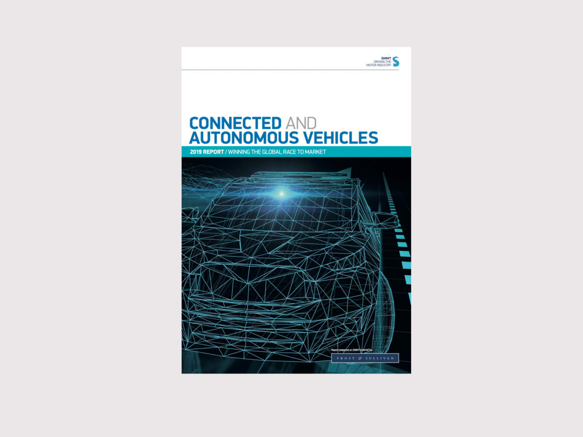 SMMT report Connected and Autonomous Vehicles: Winning the Global Race to Market - April 2019