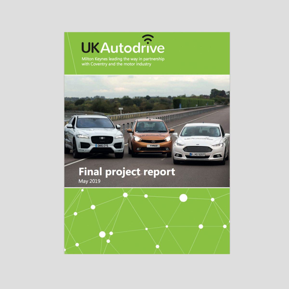 UK Autodrive report highlights driverless progress and challenges