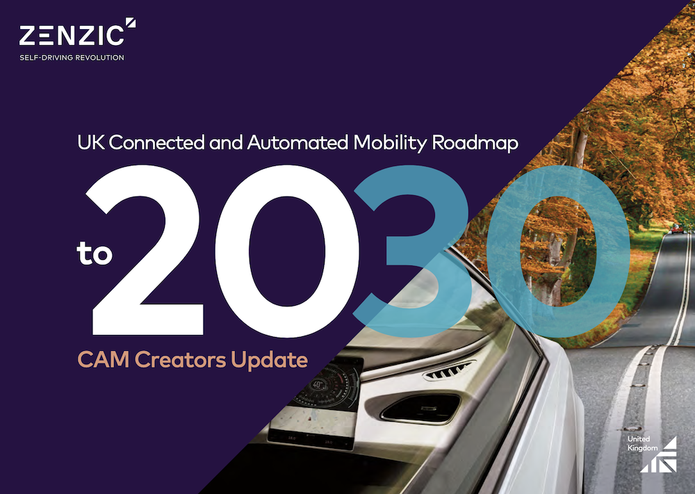 Zenzic unveils updated UK Connected and Automated Mobility Roadmap