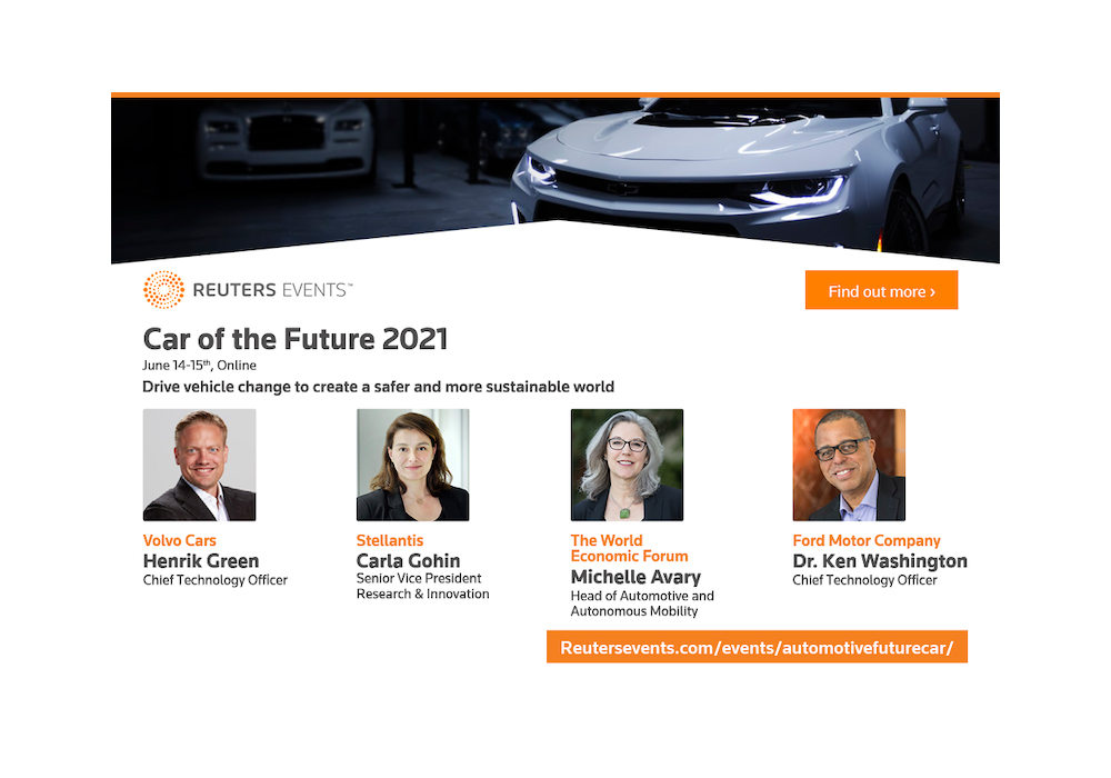 Car of the Future 2021 speakers