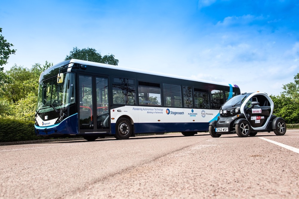 The future is here, 2021: CAVForth buses will put UK on the driverless map