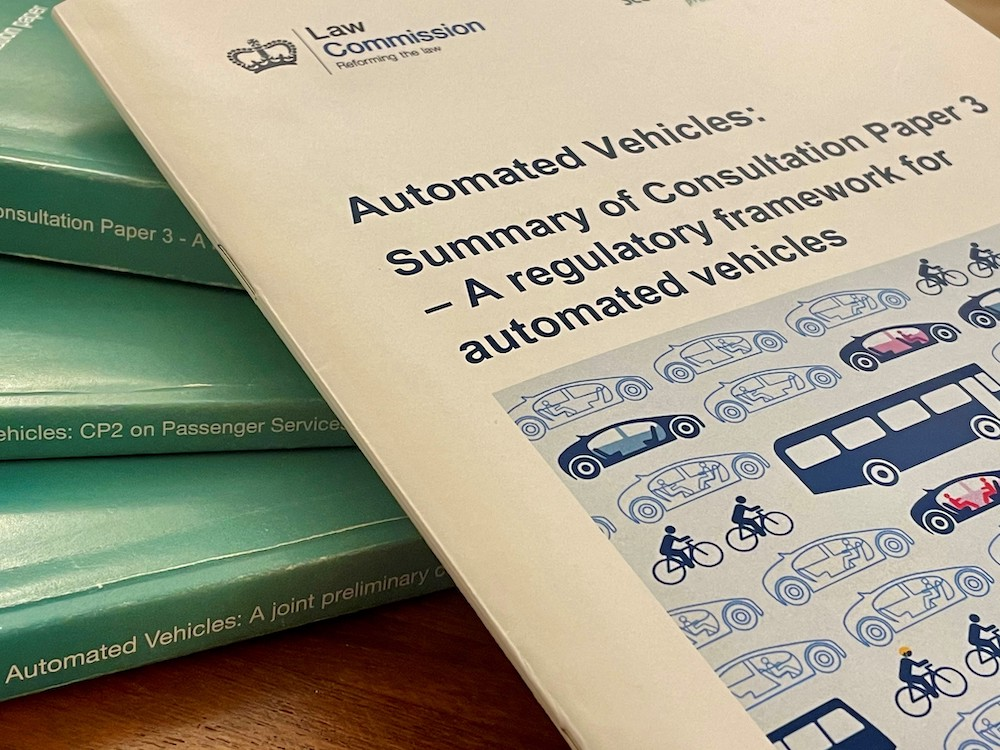 Self-driving in the UK: The latest from the Law Commission's Automated Vehicles Review