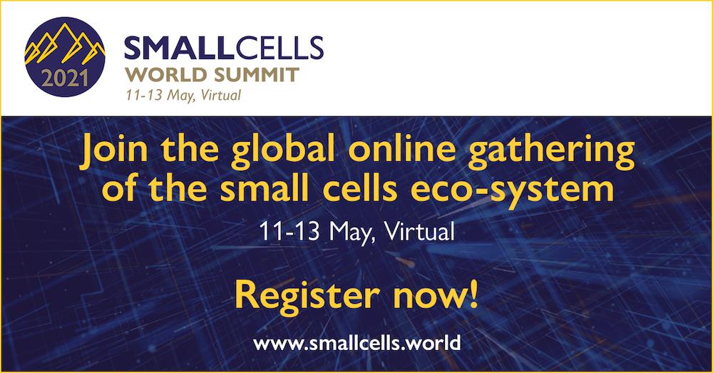 Small Cells World Summit 2021 registration