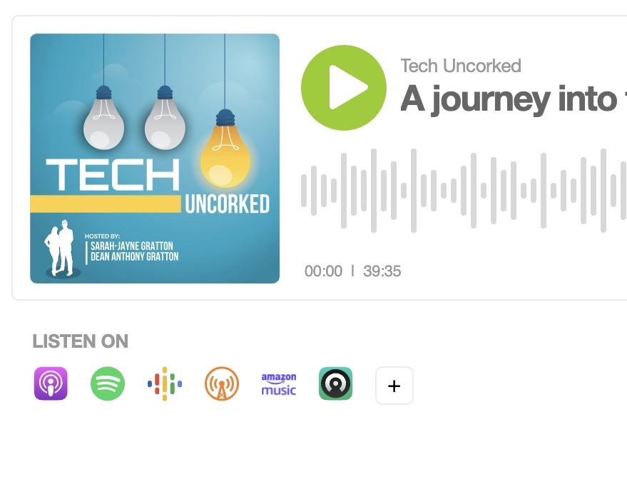 Explore the future of motoring with Neil Kennett on the Tech Uncorked podcast